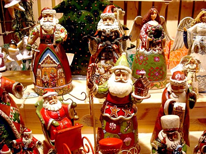 Schickes Weihnachtspersonal